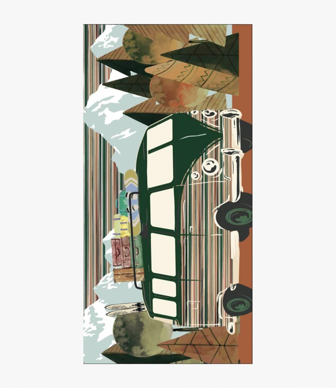 JURA Echarpe en Laine, soie pour Femme 100 x 200 CM
