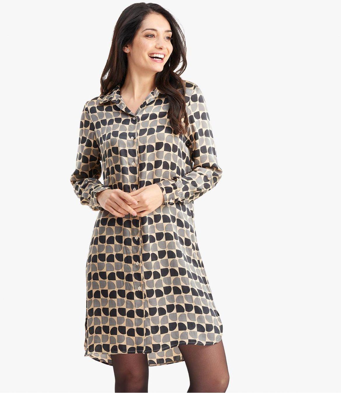 KAIA ARTY Robe en Modal satin pour Femme - 6