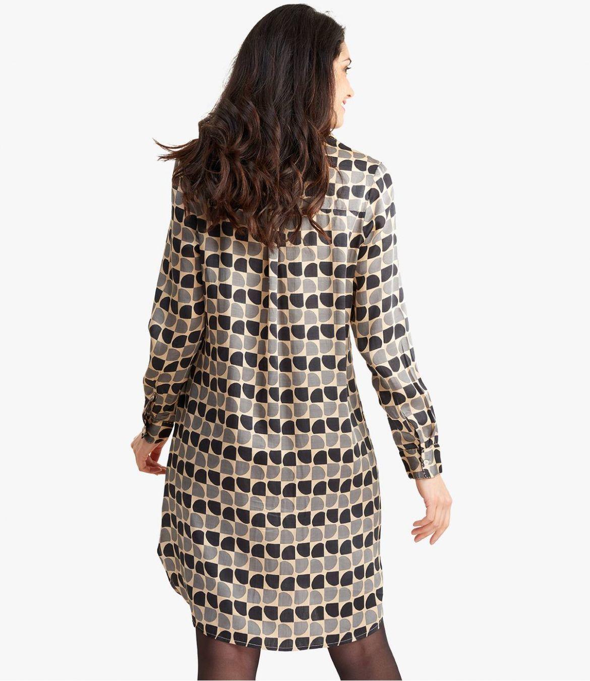 KAIA ARTY Robe en Modal satin pour Femme - 7