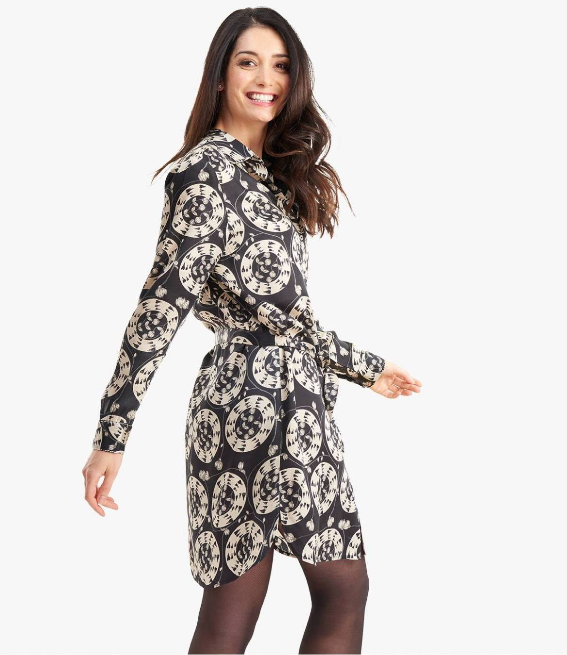KAIA EVE Robe en Modal satin pour Femme - 3