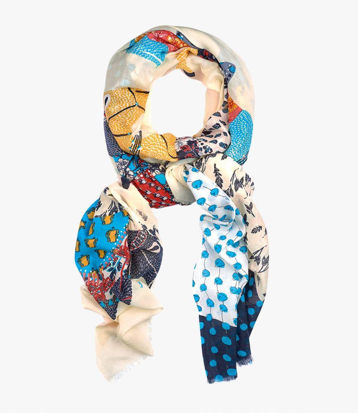 ABBY Women's Cotton Scarf 100x200 cm Storiatipic - 4