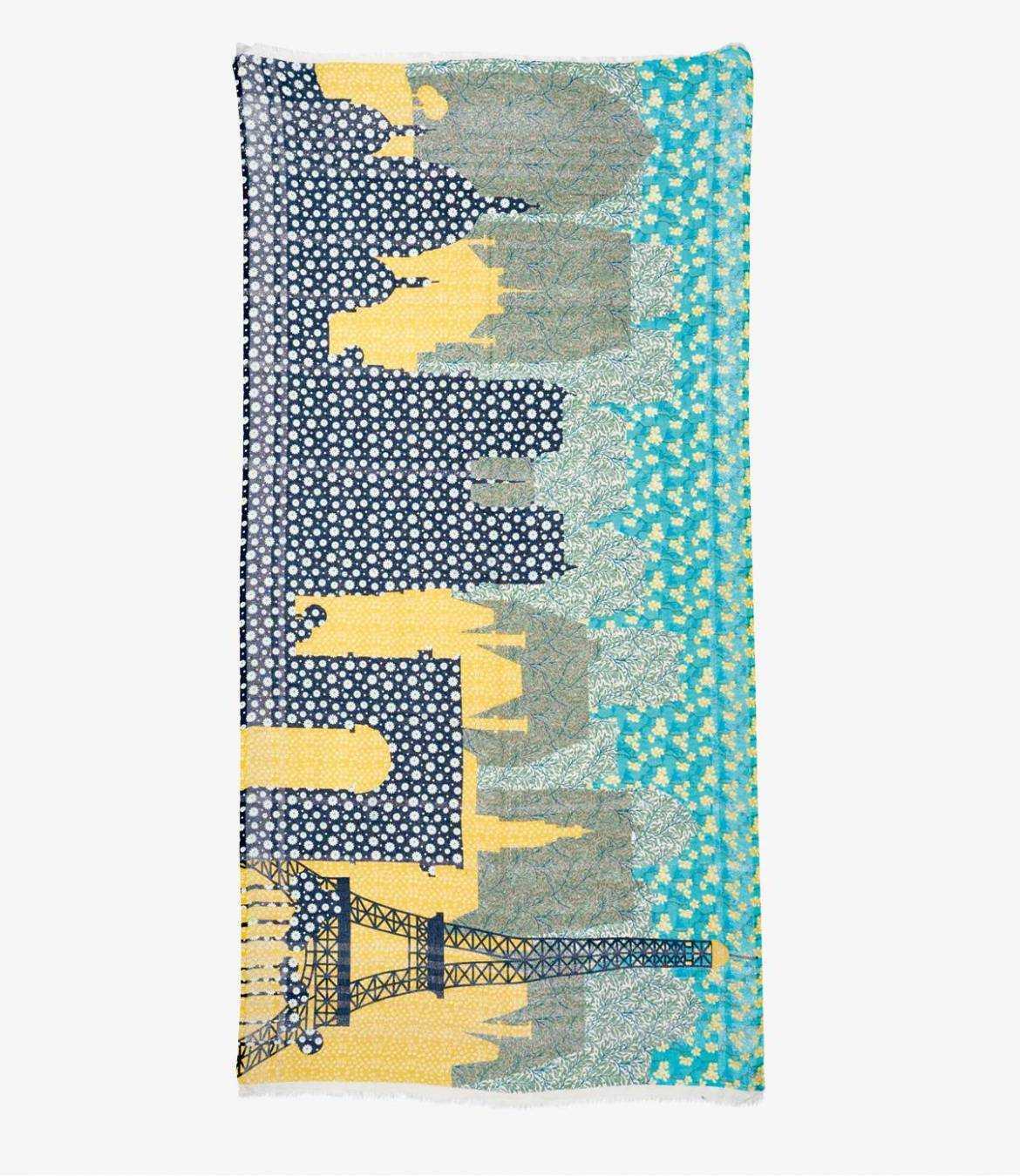 DEBBIE Cotton scarf, Women's Lurex 100x200 cm Storiatipic - 2