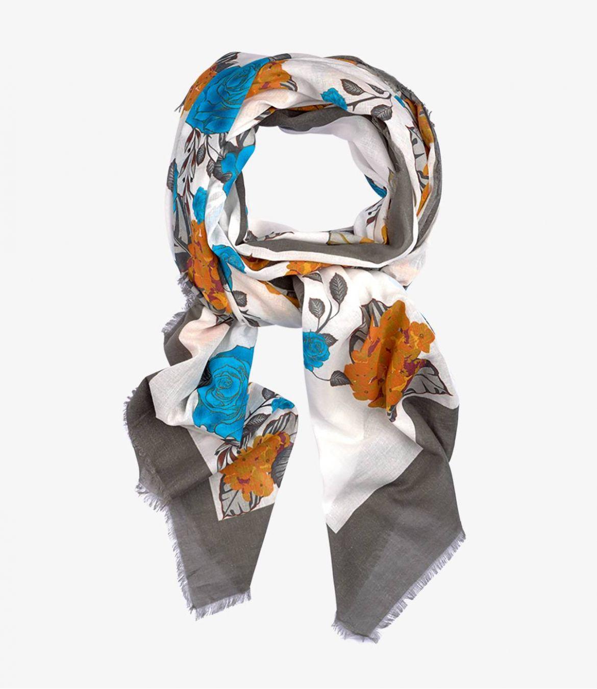 ROSIE Women's Cotton Scarf 100x190 cm Storiatipic - 1