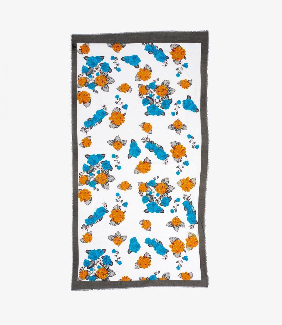 ROSIE Women's Cotton Scarf 100x190 cm Storiatipic - 2