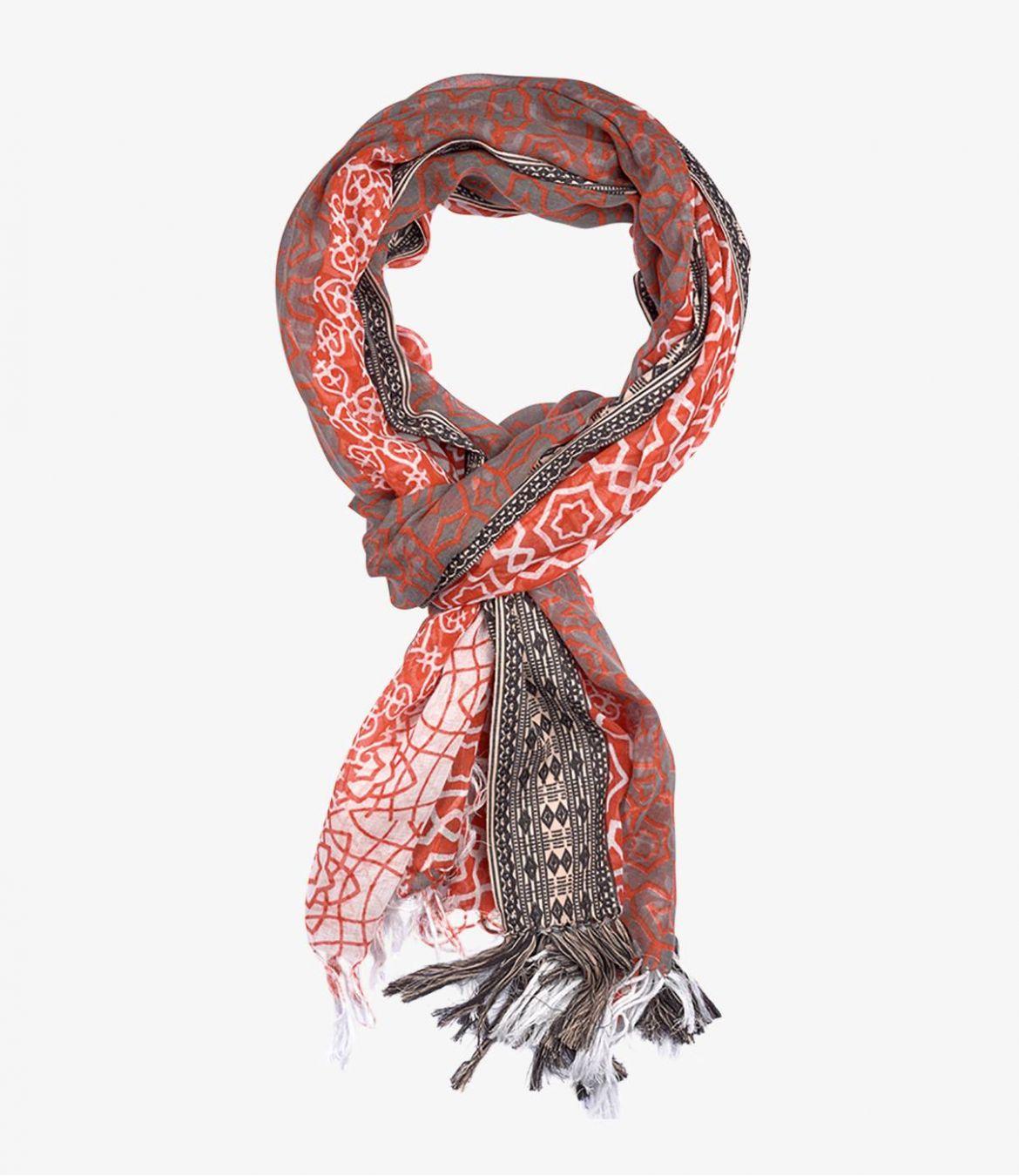 ALDO Foulard en Coton pour Homme 100x200 cm Storiatipic - 1