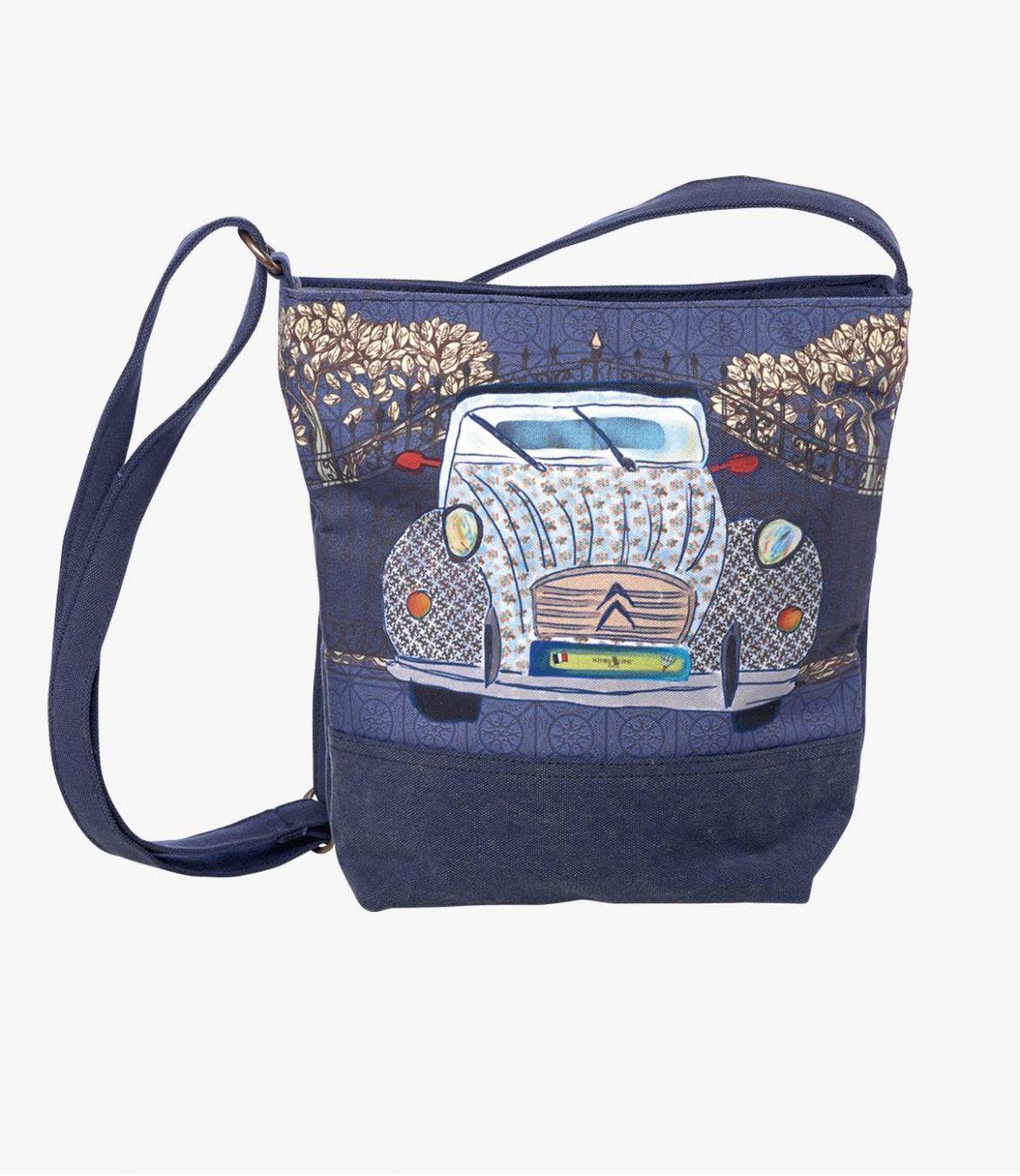 SLING GRETA Polyester Bag, Cotton, Women's Leather 33 x 10 x 28 cm Storiatipic - 1
