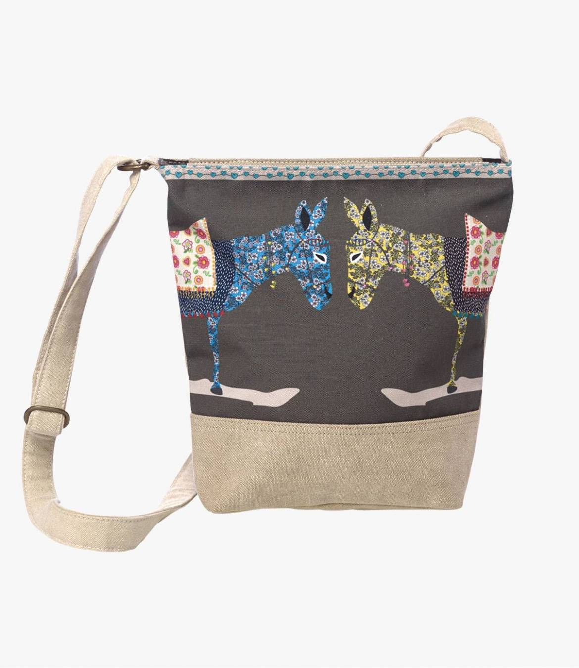 SLING PENNY Polyester Bag, Cotton, Women's Leather 33 x 10 x 28 cm Storiatipic - 1
