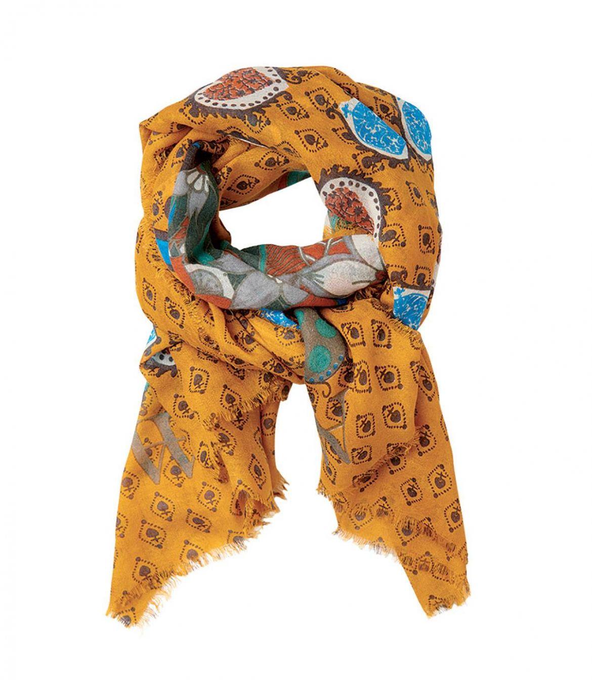 ADDICT Women's Wool Scarf 100x200 cm Storiatipic - 1