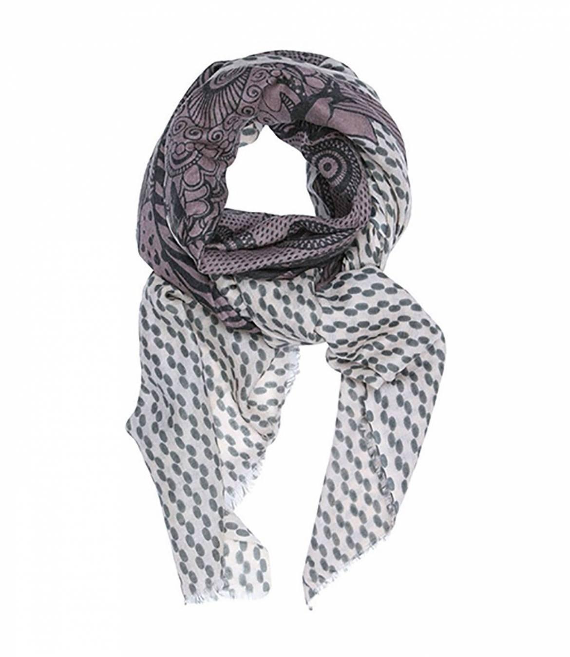COOR Women's Wool Scarf 80x190 cm Storiatipic - 1