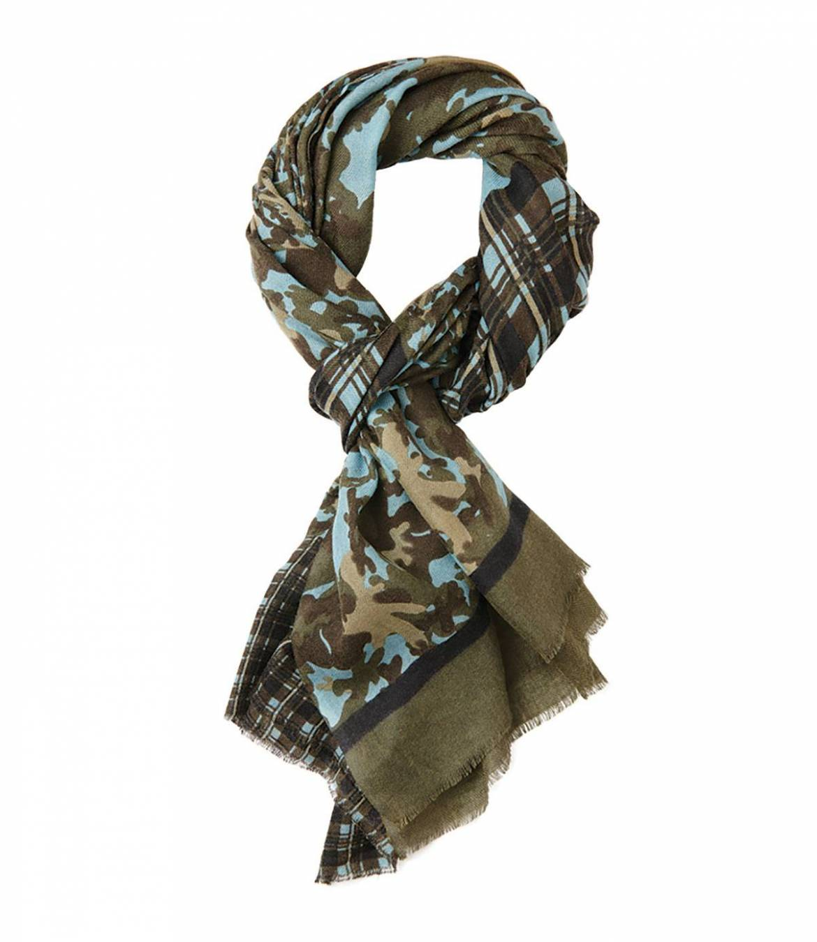 HEROIC Men's Wool Scarf 80x200 cm Storiatipic - 1