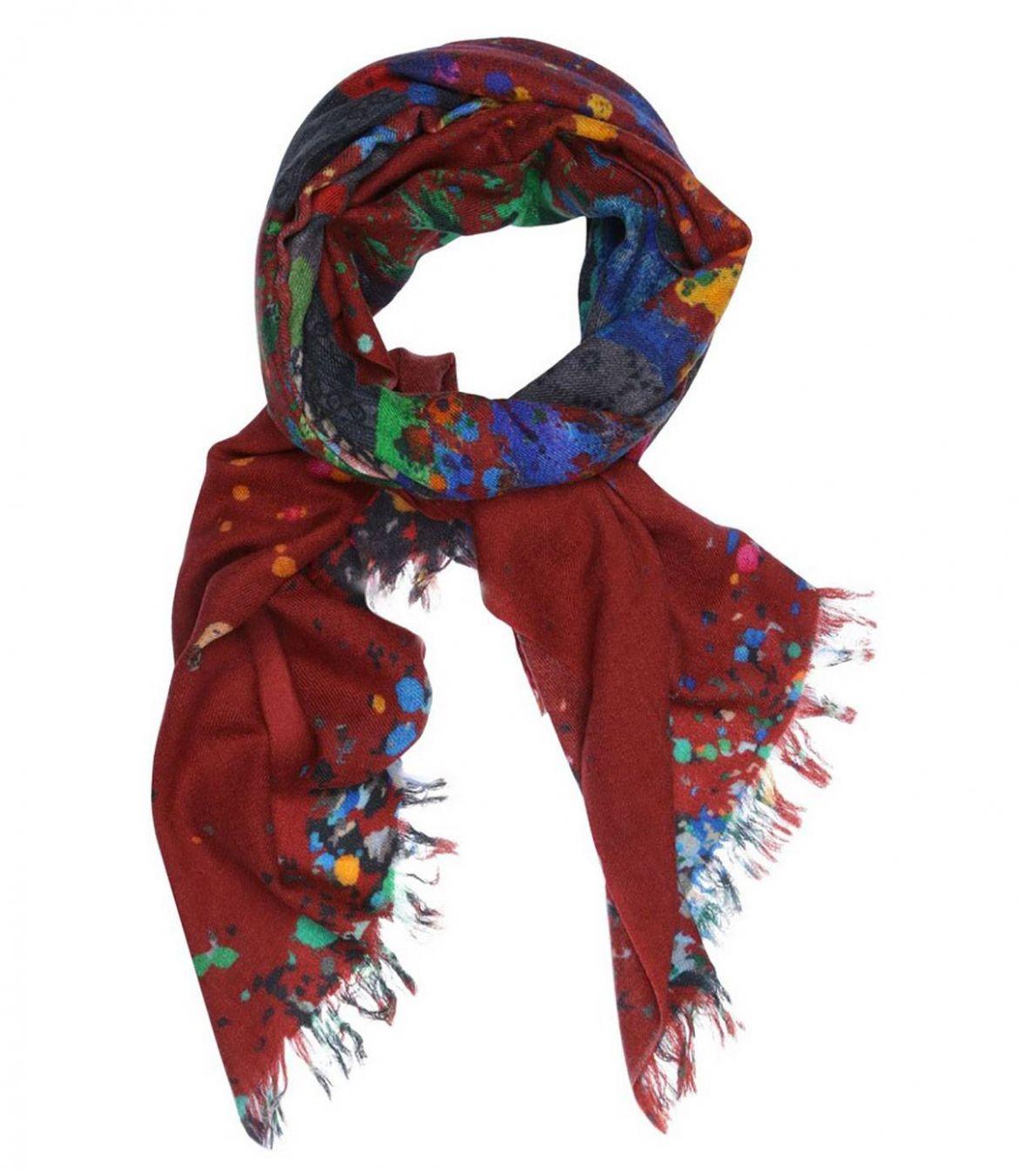 MAPPE Wool scarfs, Women's Silk 70x180 cm Storiatipic - 1