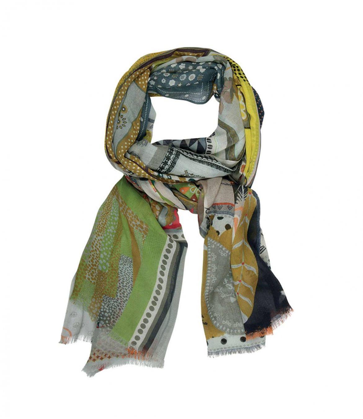 MESCLUN Modal Scarf, Women's Cotton 100x200 cm Storiatipic - 1