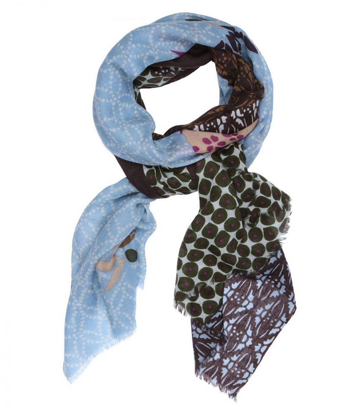 MIXE Women's Wool Scarf 75x190 cm Storiatipic - 1