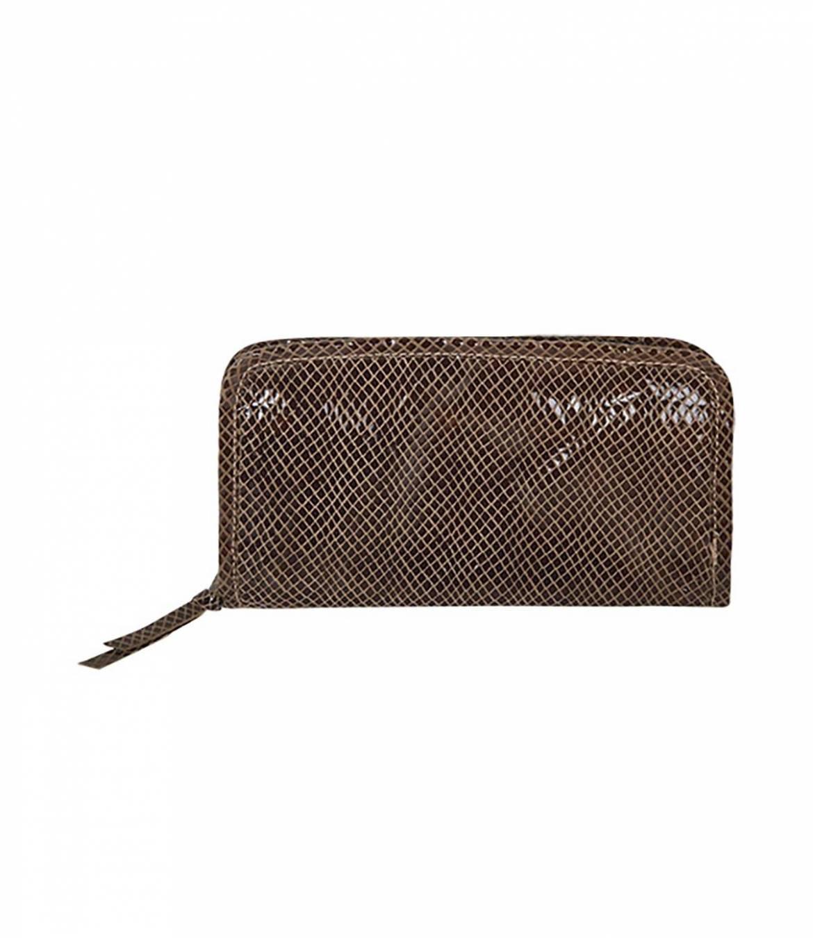 CHOU SHINY Women's Leather Pouch 20x11 cm Storiatipic - 1