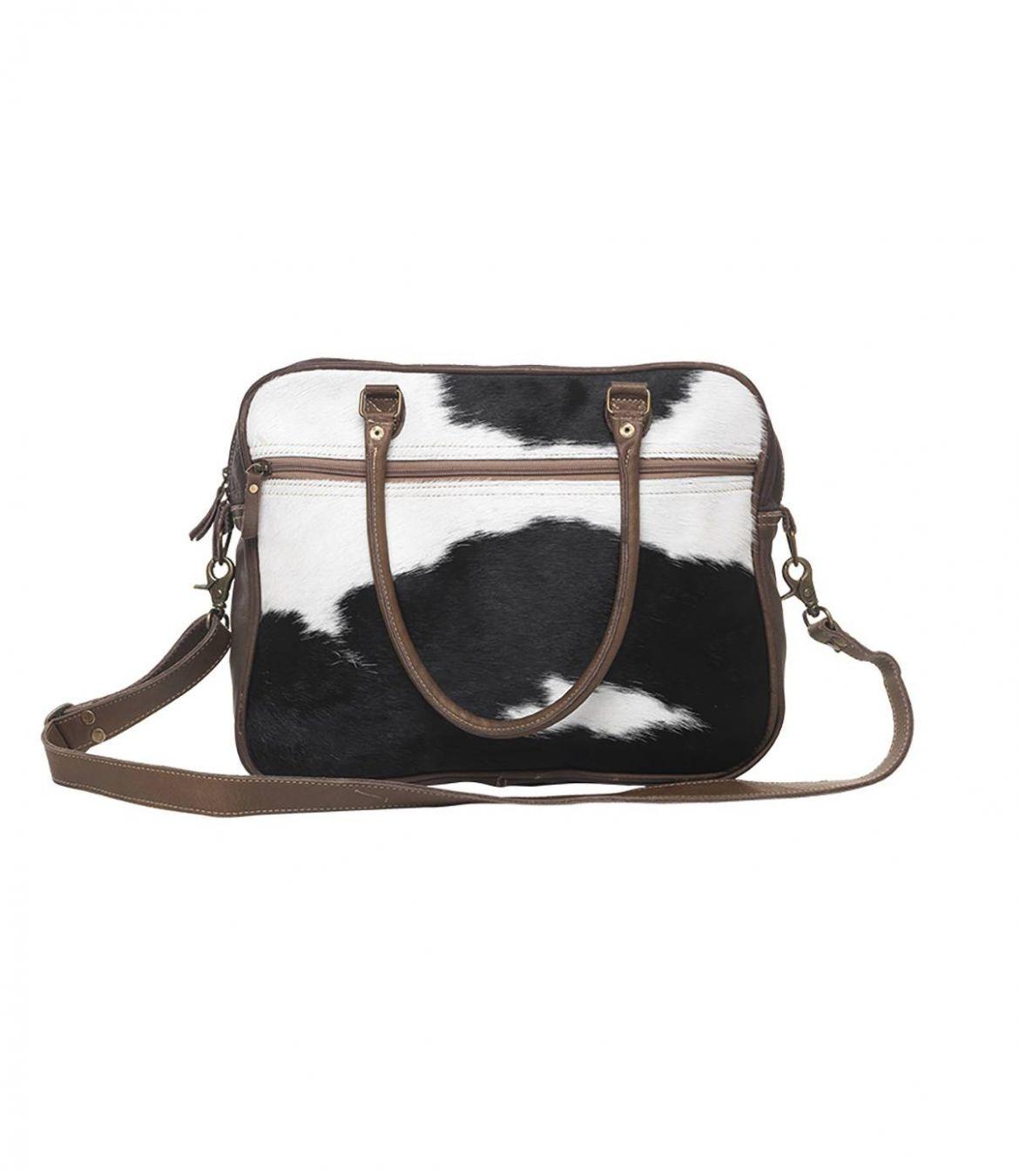 LUDIC CUIR Women's Leather Bag 40x32 cm Storiatipic - 1
