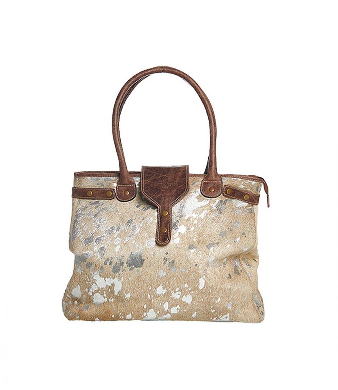 UTOPIC CUIR Women's Leather Bag 40x35 cm Storiatipic - 1