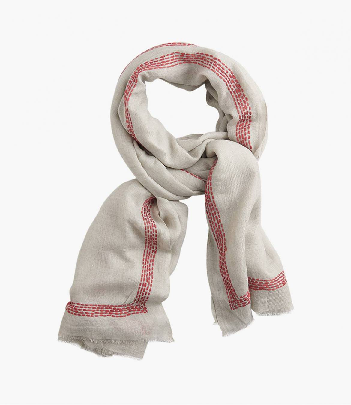 FONDANTE Scarf in Modal, Wool, Cotton for Women 100x200 cm Storiatipic - 1