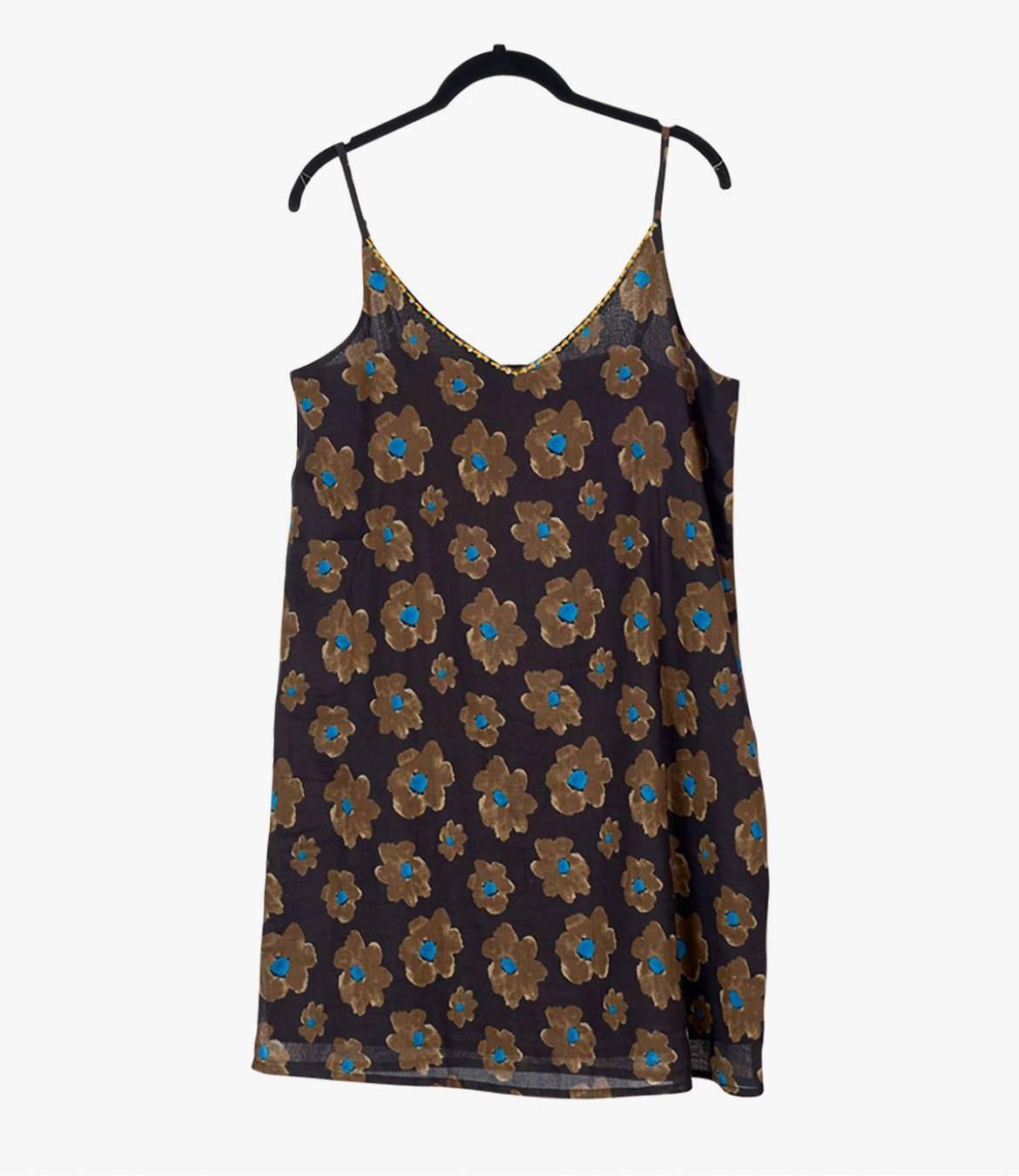 ALOA ASTER Cotton Dress for Women Storiatipic - 1