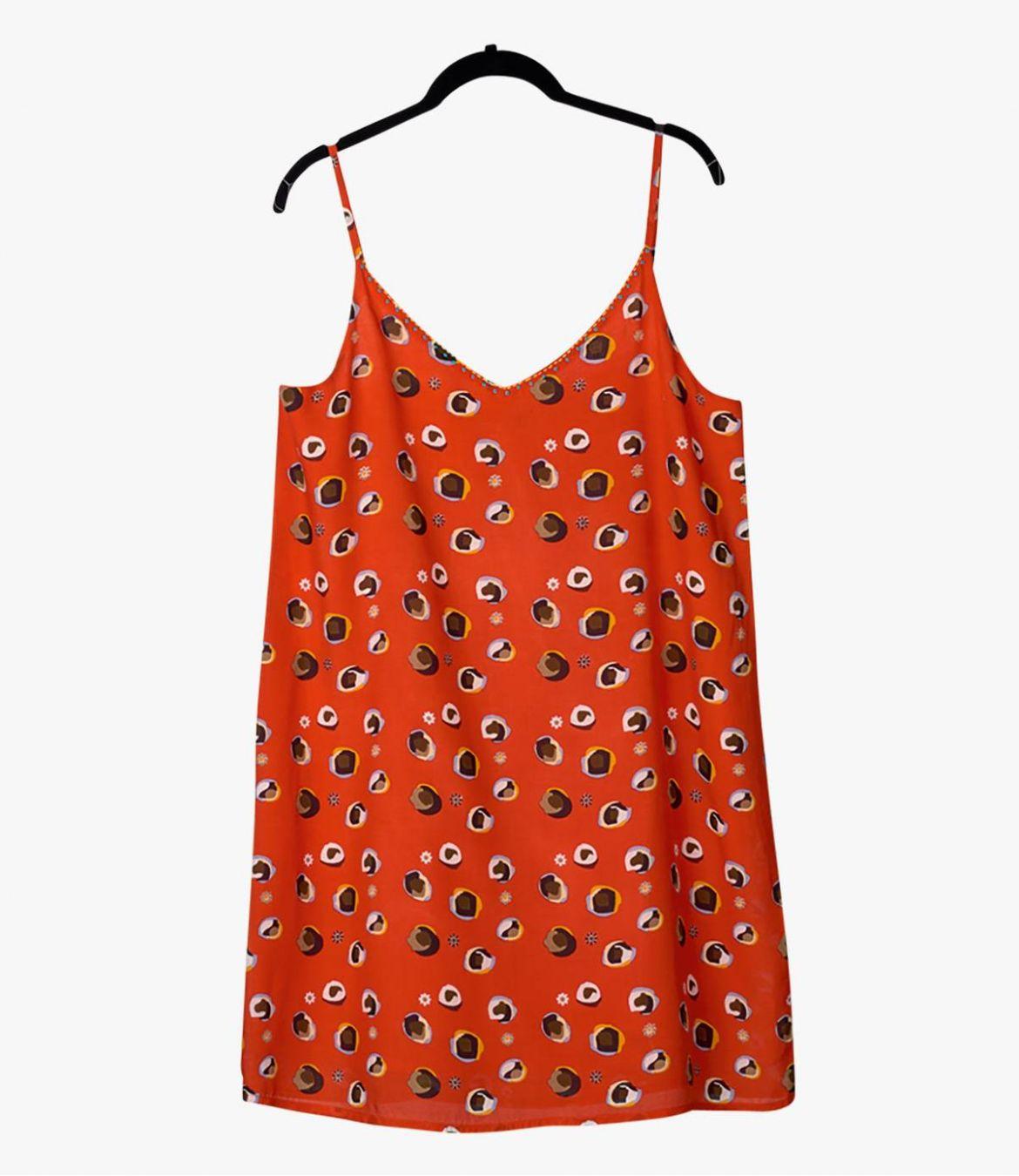 ALOA BULLE Dress in Modal, Cotton for Women Storiatipic - 2