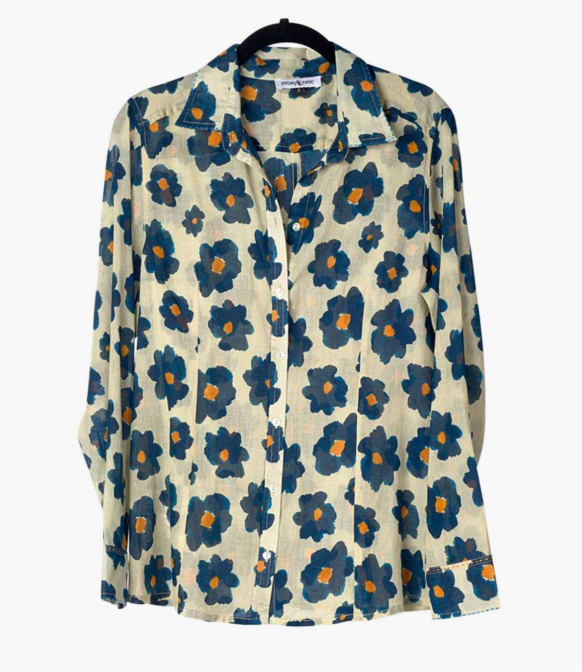 BONI ASTER Cotton Shirt for Women Storiatipic - 2