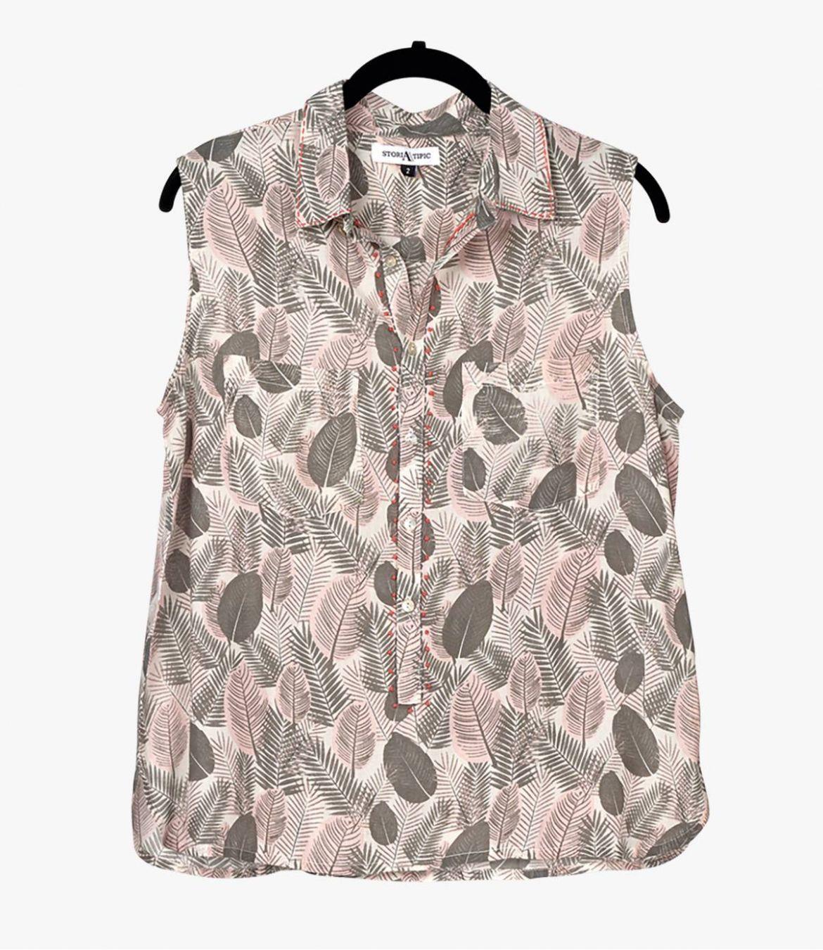 CIAO PLUME Women's Modal Shirt Storiatipic - 2