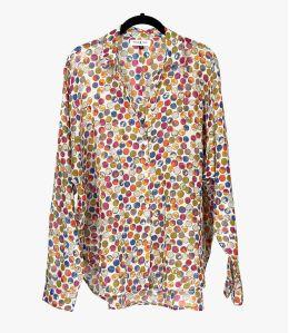 COSY DOT Cotton Shirt for Women Storiatipic - 1