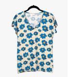 EVI ASTER T-shirt en Coton, Modal pour Femme Storiatipic - 2