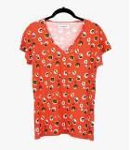EVI BULLE T-shirt en Coton, Modal pour Femme Storiatipic - 2
