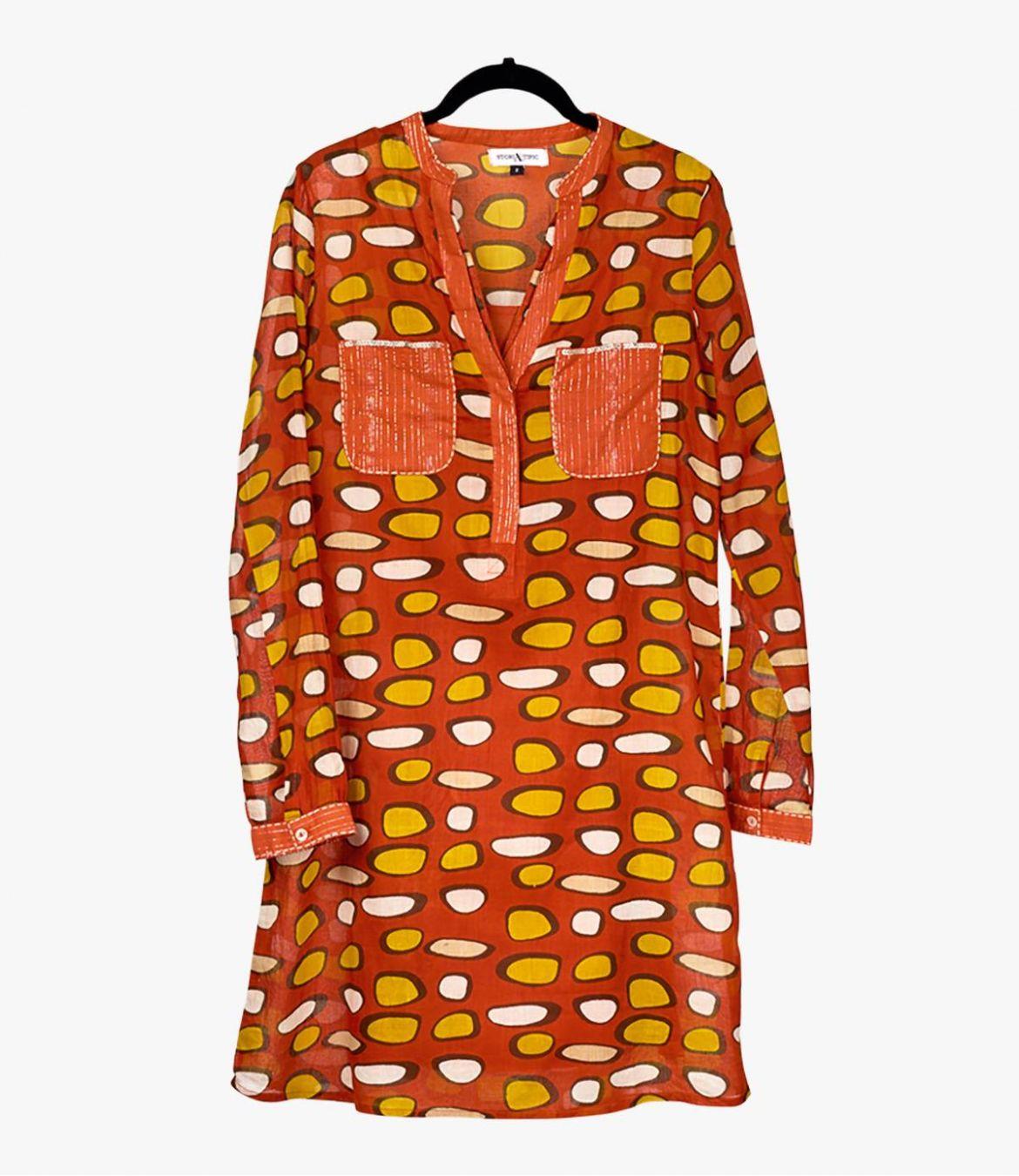 SONG GALET Robe en Coton pour Femme Storiatipic - 2