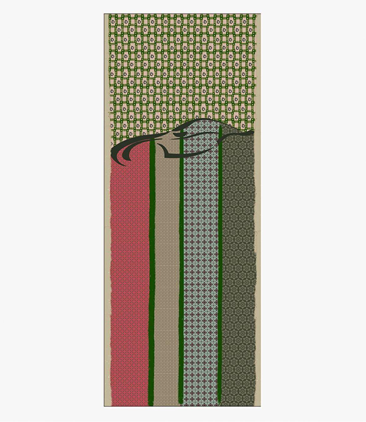 ARIS Echarpe en Laine pour Homme 80X200 cm Storiatipic - 6