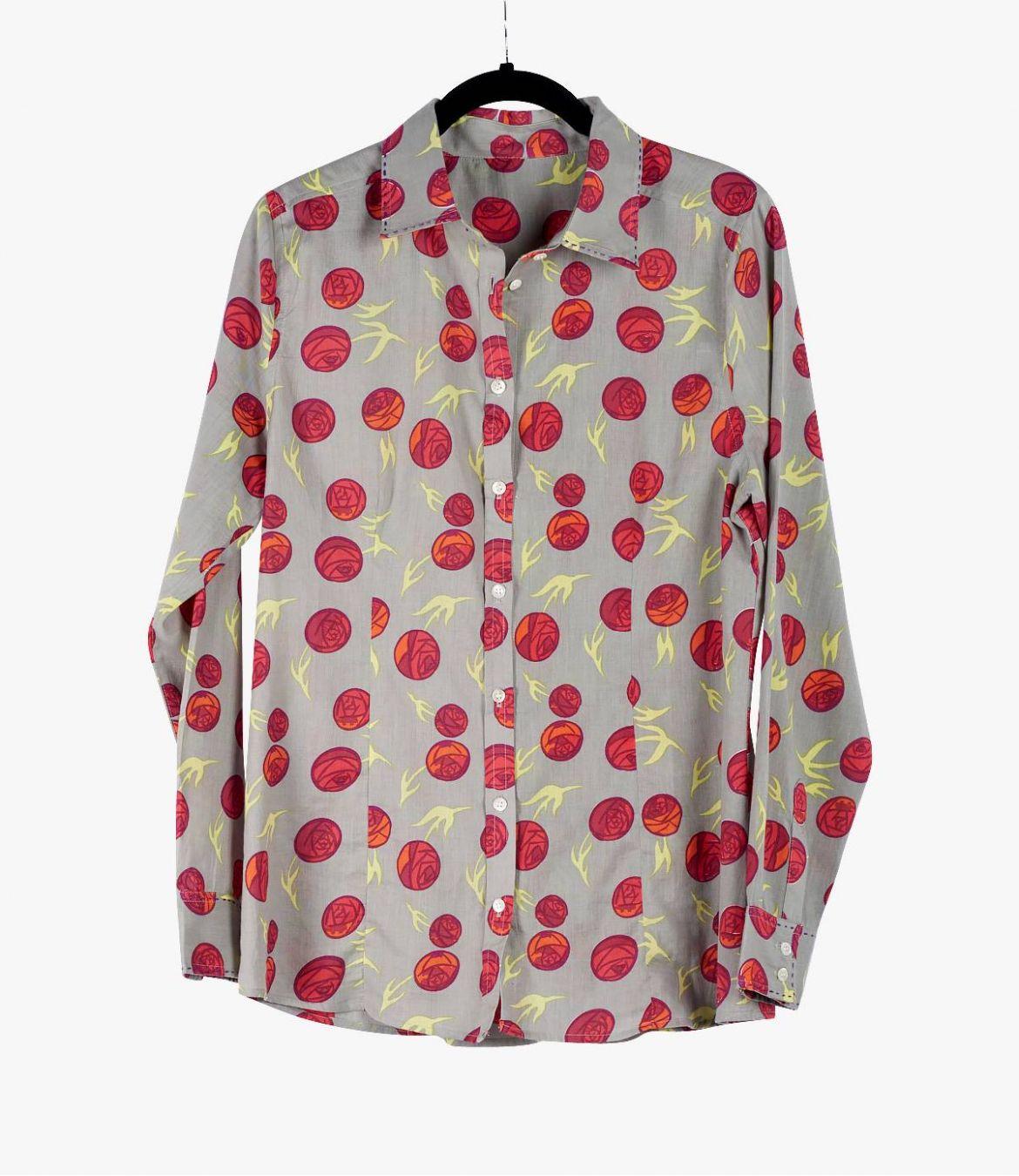BONI ANAS Cotton Shirt for Women Storiatipic - 2