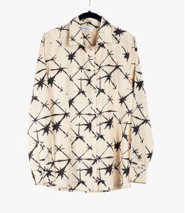 BONI KDO Cotton Shirt, Modal for Women Storiatipic - 1