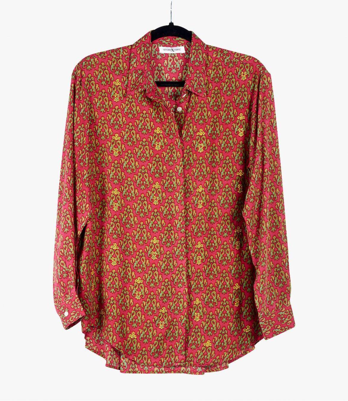 CARI KISS Women's Modal Shirt Storiatipic - 1