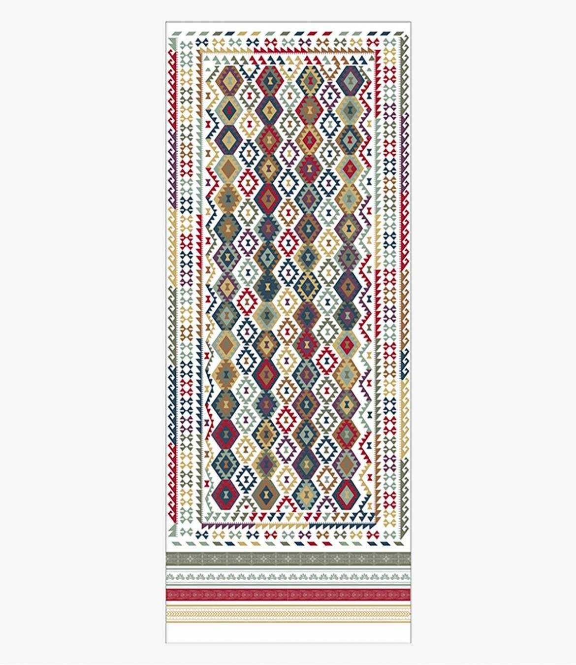 COLOR Wool scarf, Women's Silk 75x190 cm Storiatipic - 4