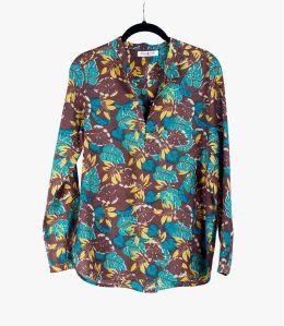 DANA EPIQ Cotton Blouse, Women's Silk Storiatipic - 2