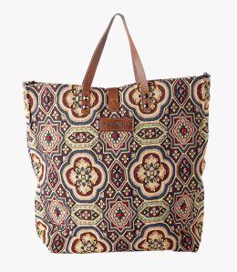 HAPPY IMP Cotton Bag, Women's Leather 40x34x15 cm Storiatipic - 1