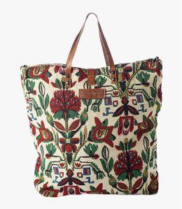HAPPY IMP Cotton Bag, Women's Leather 40x34x15 cm Storiatipic - 2