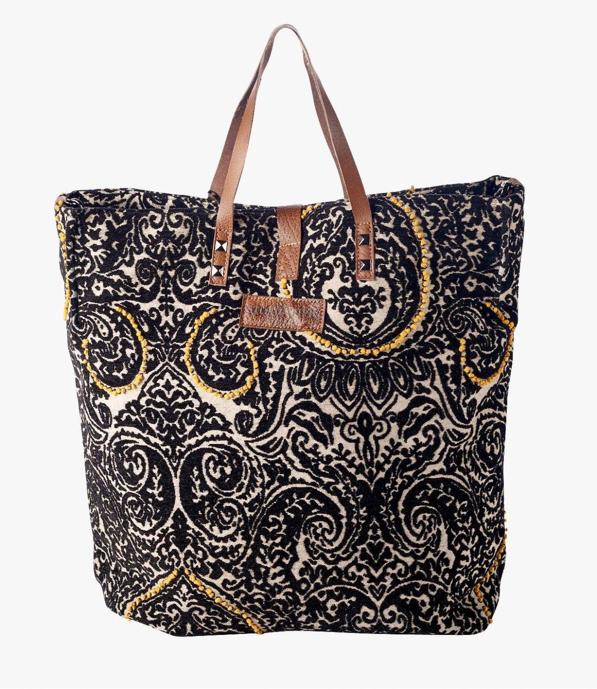 HAPPY IMP Cotton Bag, Women's Leather 40x34x15 cm Storiatipic - 6