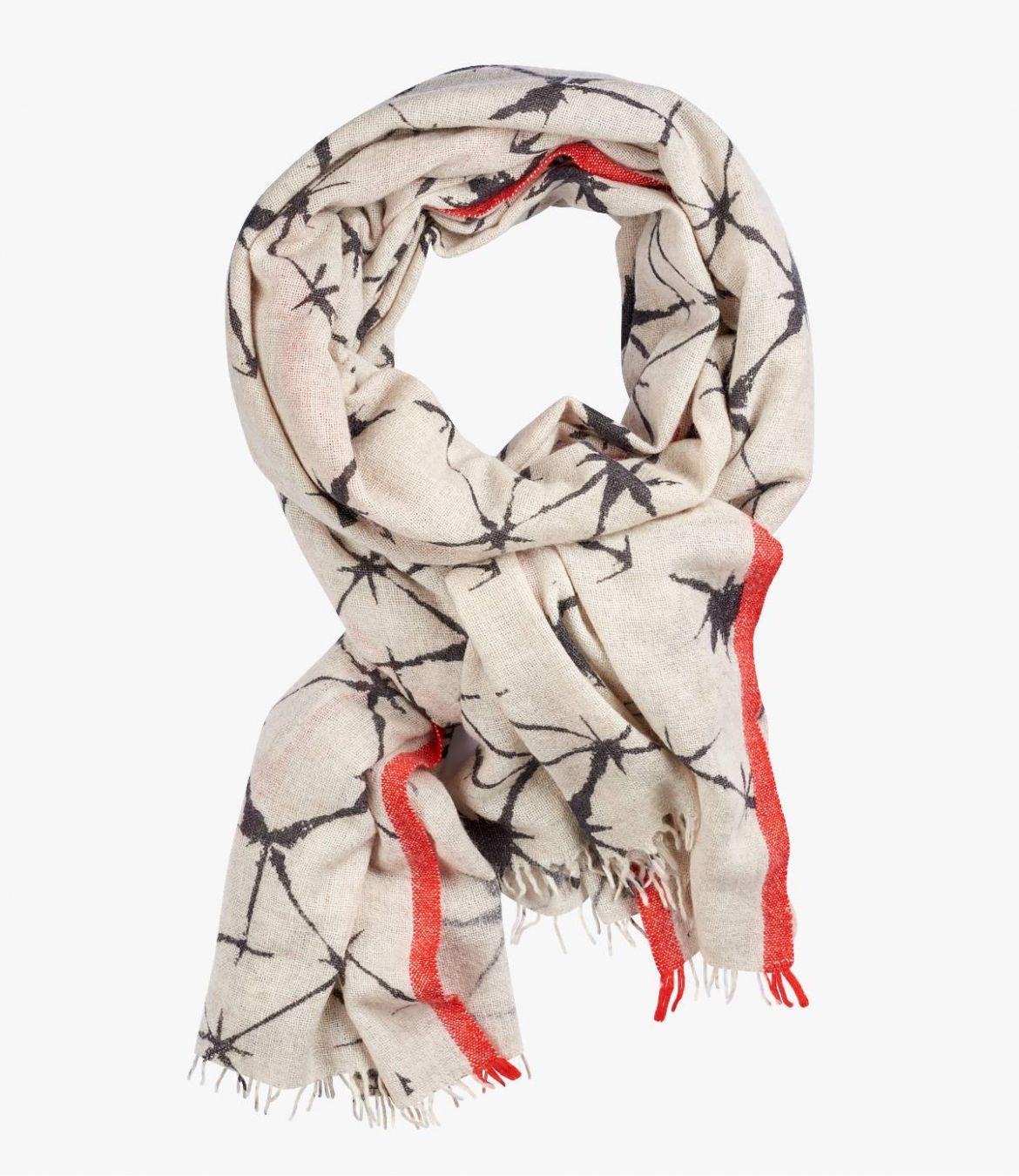 KDO Echarpe en Laine, Nylon, Coton pour Femme 100x200 cm Storiatipic - 1