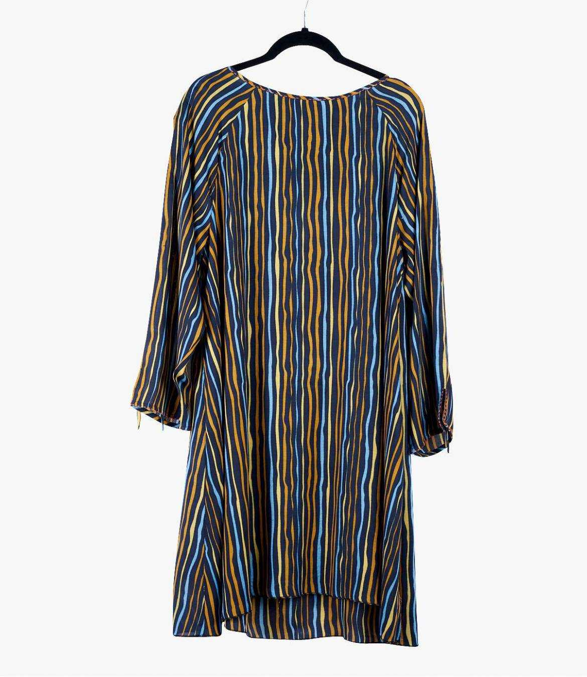 LARA NOVA Women's Modal Dress Storiatipic - 1