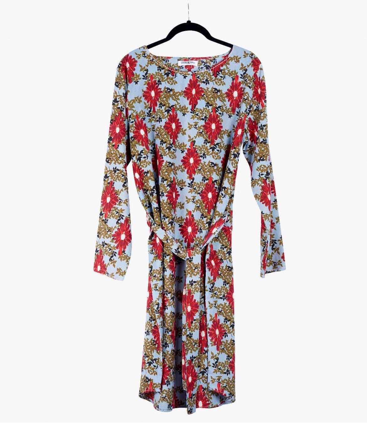 MARI ALEA Robe en Coton, Modal pour Femme Storiatipic - 2