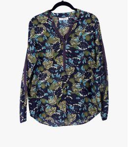 MINA EPIQ Cotton Blouse, Women's Silk Storiatipic - 1