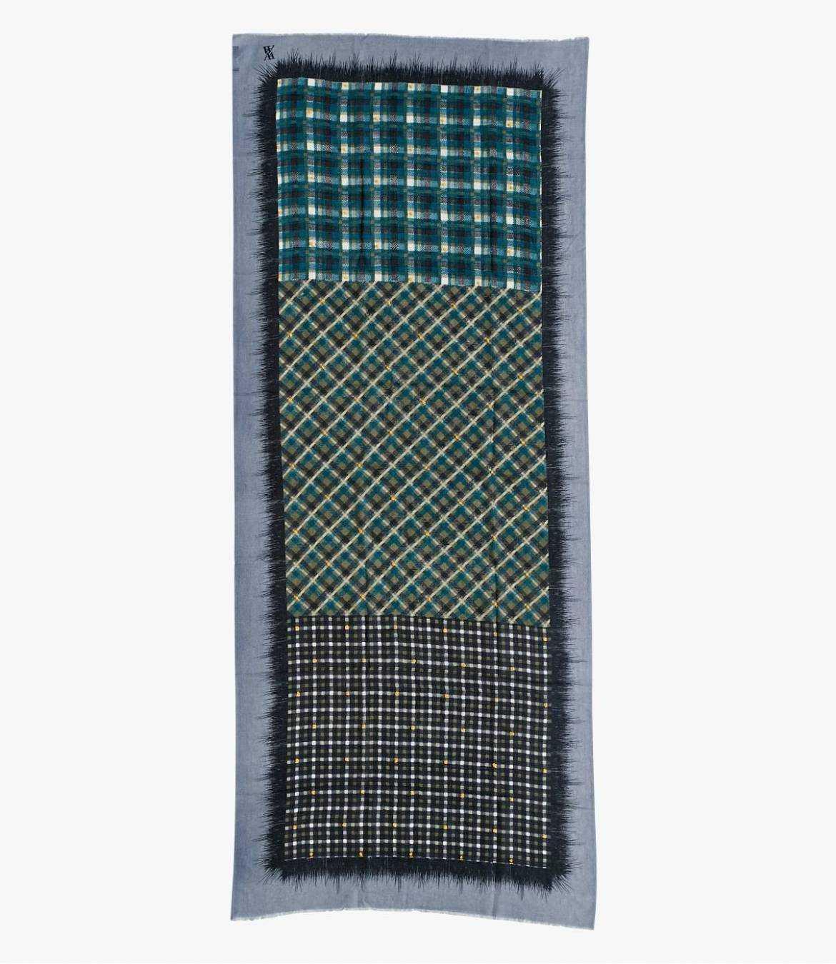 NORDIC Echarpe en Laine pour Homme 83x200 cm Storiatipic - 2