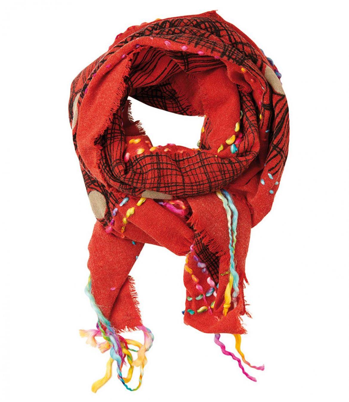 OBLIC Women's Wool Scarf 100X200 cm Storiatipic - 5