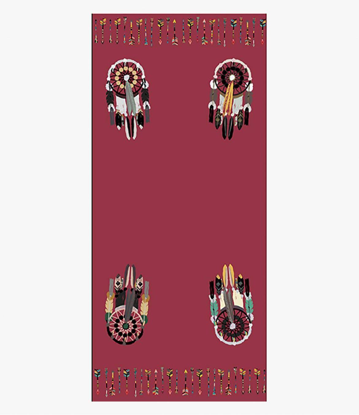 REVE Women's Wool Scarf 90x200 cm Storiatipic - 7
