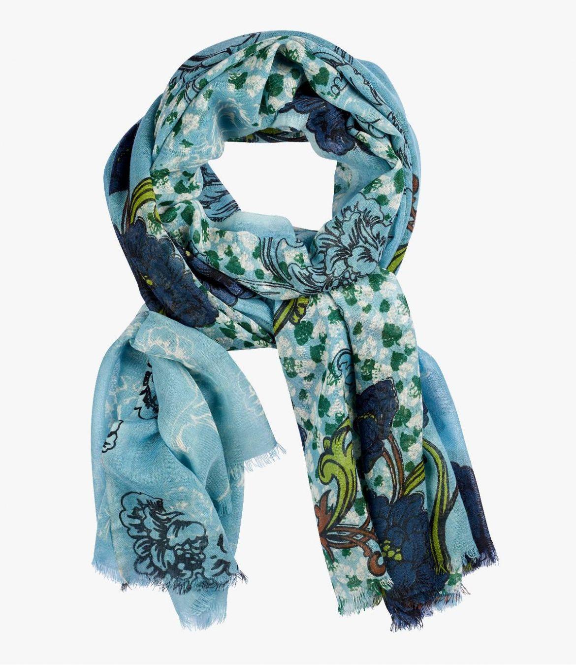 SENS Women's Wool Scarf 100x200 cm Storiatipic - 1