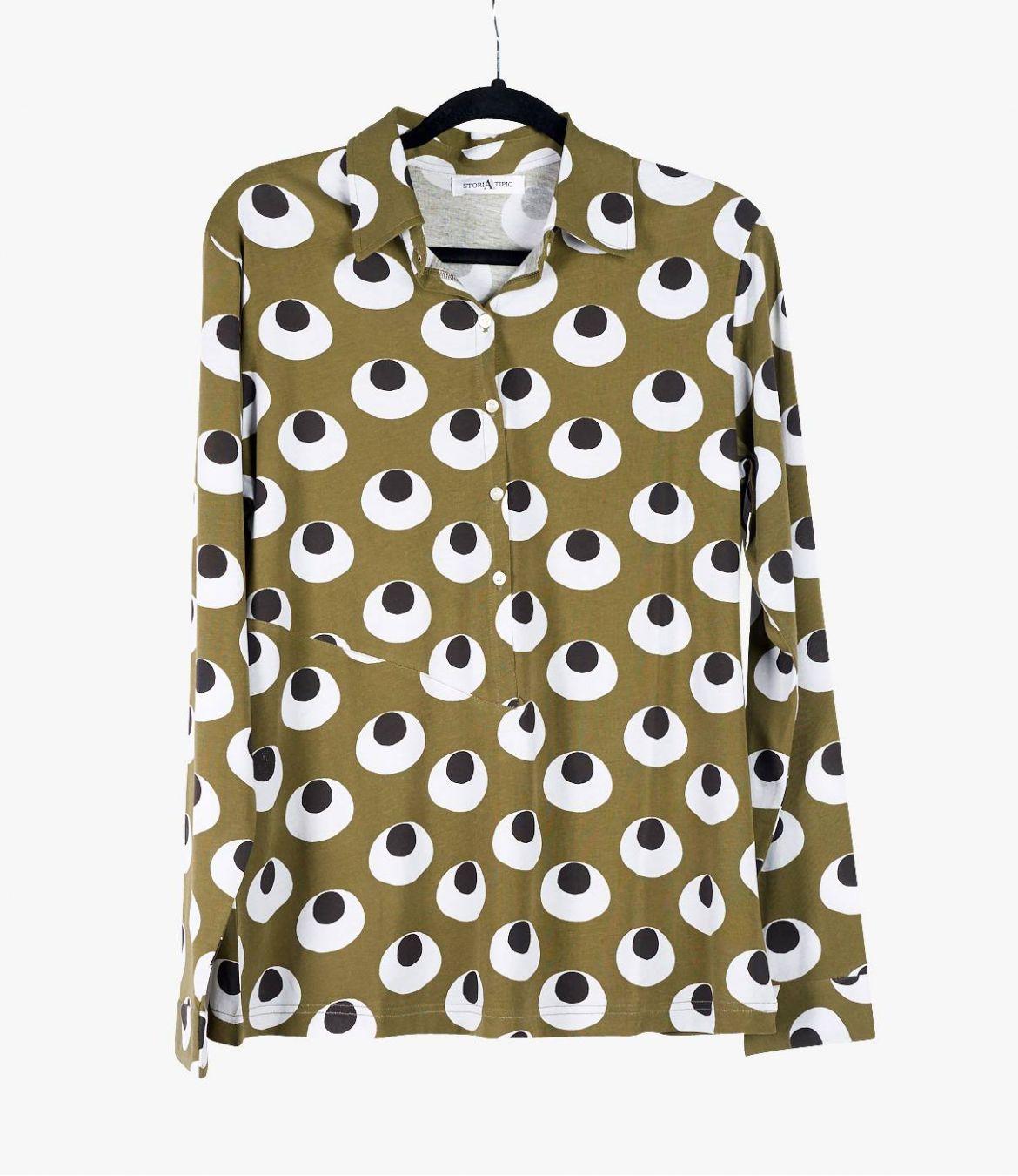 TESS DIVA Cotton Shirt for Women Storiatipic - 1