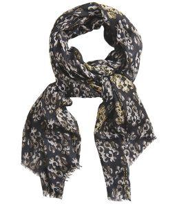 CHARMANTE Modal scarf, Women's wool 100 x 200 CM Storiatipic - 5