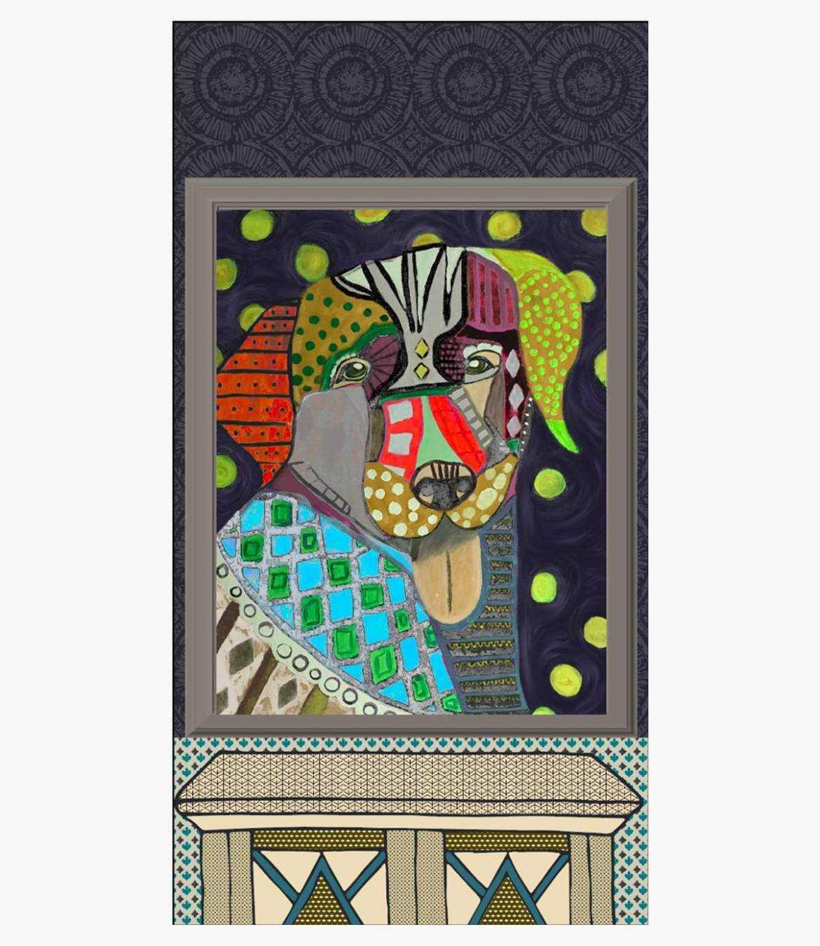 LUCIDE Wool scarf, Nylon for Women 100 x 190 CM Storiatipic - 4
