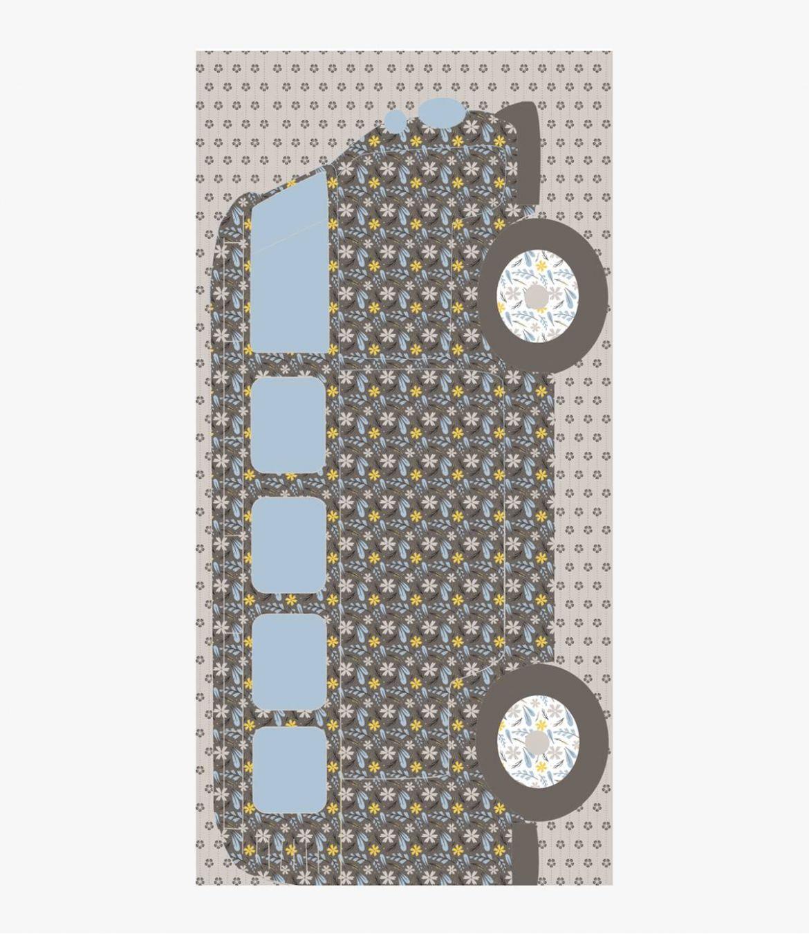 DAVIS Foulard en Coton pour Homme 100x200 cm Storiatipic - 2